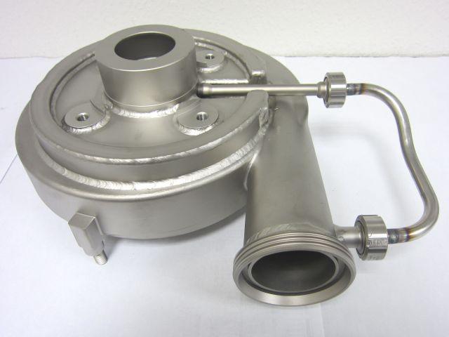 Pumpengehäuse mit Heizmantel (gebeizt)